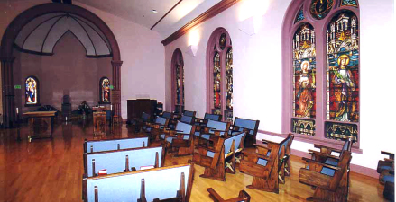 St. Catharine Stained glass windows (1)